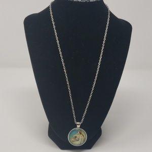 NWOT Original Made Resin pendant necklace